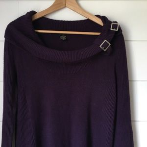 Susan Lawrence Sweaters - SUSAN LAWRENCE Purple Sweater